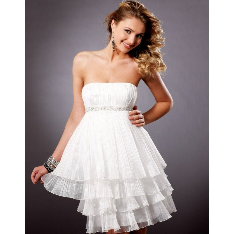 Short White Party Dresses Y Pretty For Juniors Unique