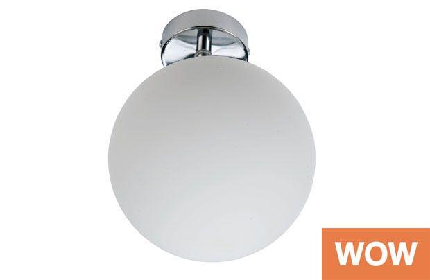 Homebase Bathroom Ceiling Light 170mm Diameter 10