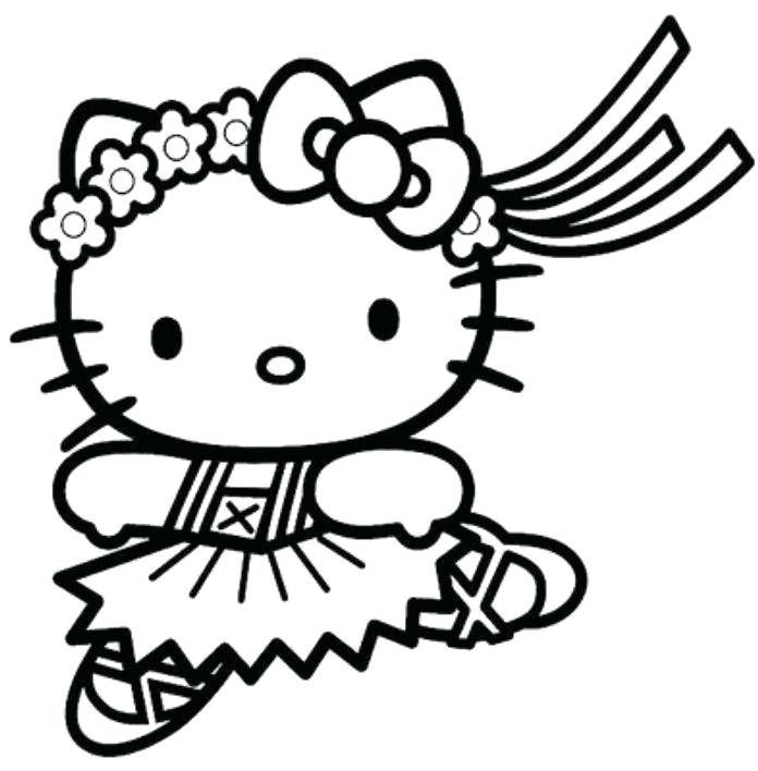 hello kitty princess para colorear hello kitty coloring pages gatito ...