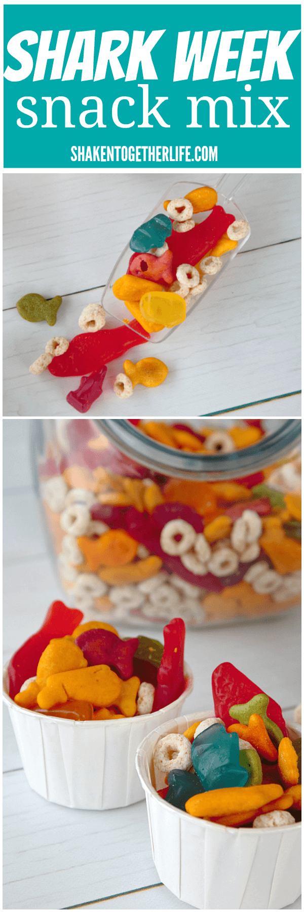 Shark Week Snack Mix