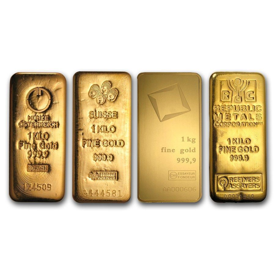 1 Kilo Gold Bars Goldbullion Gold Money Gold Bullion Bars Gold Investments
