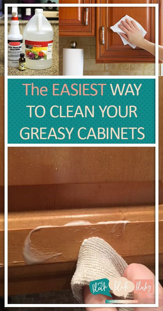 Pin On Clean Your Kitchen Cabinets