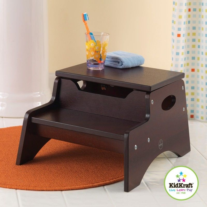 How To Build A Storage Step Stool Step Stool Diy Step Stool