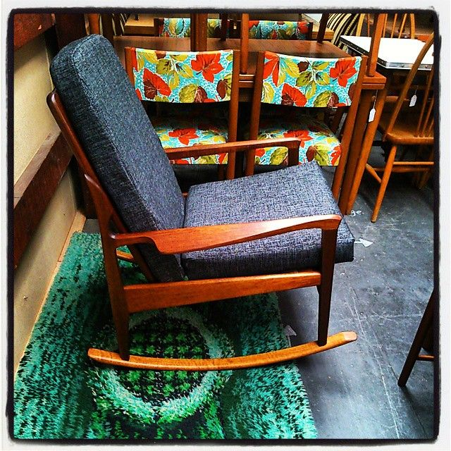 Amazing Fler Narvik Rocker Instore Now, just $1495. #fler #flernarvik #fredlowen #rocker #rockingchair #midcenturymodern #1stdibs #1960s #60s #sixties #danishfurniture #furnitureporn #furniture #chairs #chairporn #melbournevintage #melbourne #melbourneretro #retro #vintage #designer #design #preston #prestonvintage #hunterandco