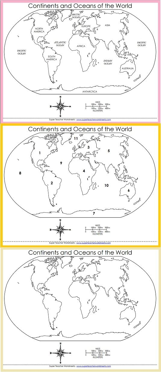 Choose the world map that meets your needs! | Social Studies - Super ...