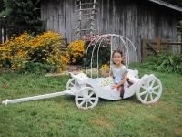 Medium Size Cinderella Pumpkin Carriage
