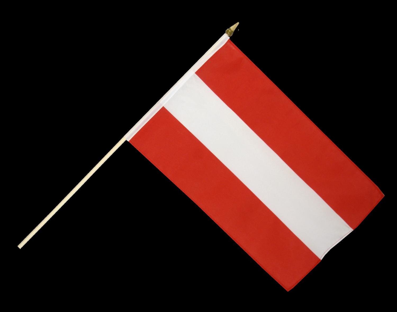 Stockflagge Österreich günstig kaufen flaggenverkauf.at