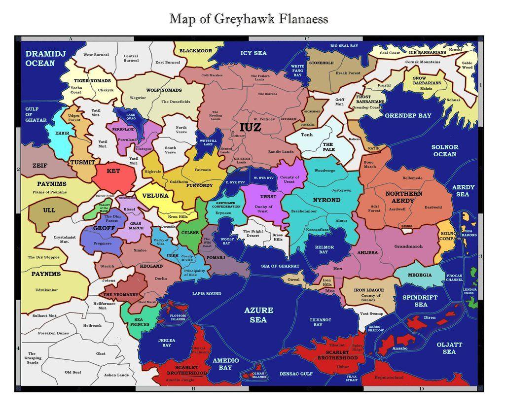 Greyhawk map in full by kalshann fantasy maps pinterest greyhawk map in full gumiabroncs Images