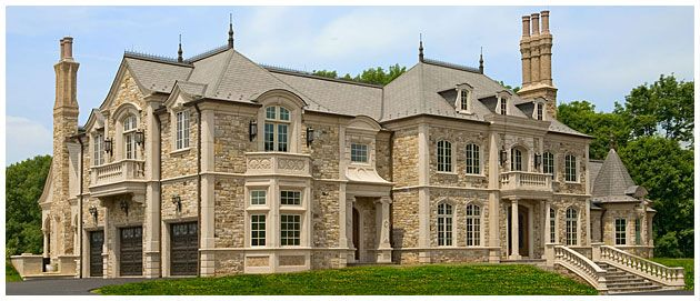 Luxurious European Chateau Inspired By 16th Century