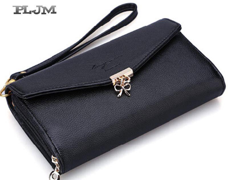 Frauen Handtaschen Kupplung Brieftasche 2016 Mode Pu-leder Lange Bogen Handy Fall Beiläufige Elegante Kostenloser Versand Multifunktionale W49 //Price: $US $11.98 & FREE Shipping //     #clknetwork