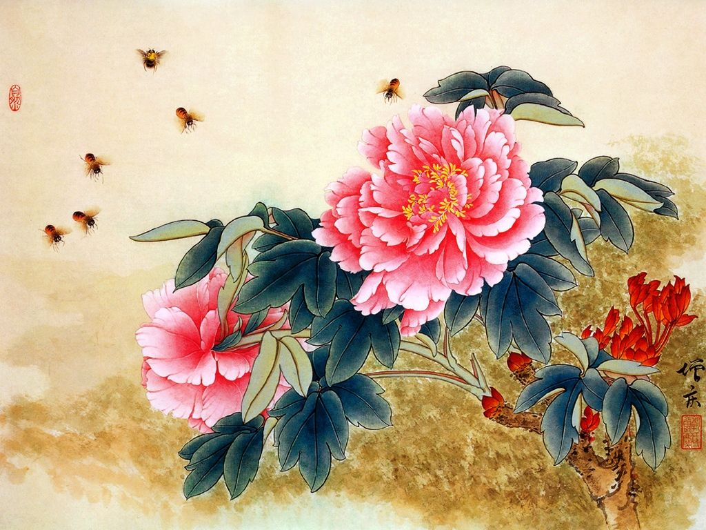 asian Painting Traditional Chinese Painting Fine