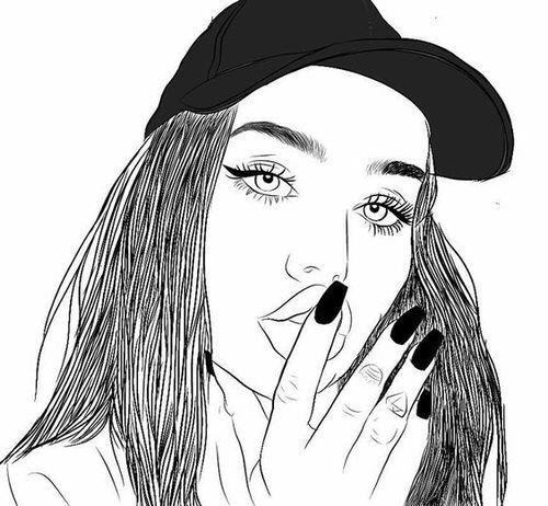 Pin On Girls Black White