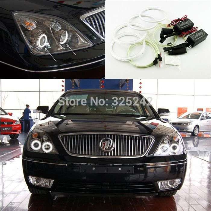 Buick Lacrosse Jeans Led Angel Eyes Halo Rings Car Lights Coach