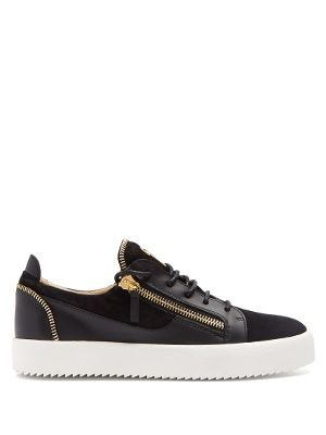 d1aa35071f540 Frankie low-top leather and suede trainers | Giuseppe Zanotti |  MATCHESFASHION.COM