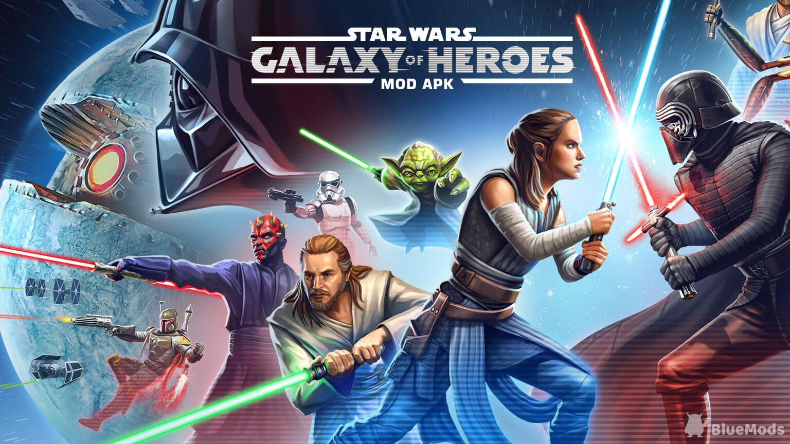 Star Wars Galaxy Of Heroes Mod Apk Unlimited Everything
