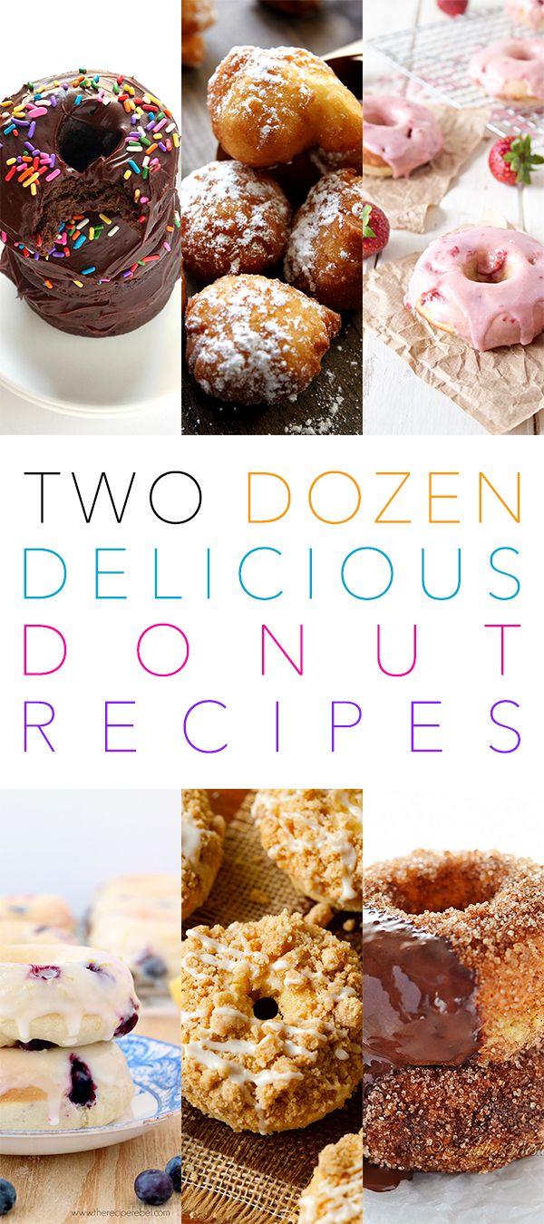 2 Dozen Delicious Donut Recipes - The Cottage Market