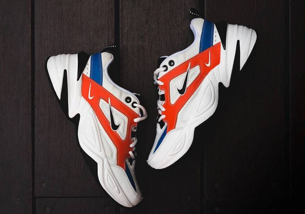 2a5c8c922 Nike M2K TEKNO AO3108-101 Summit White Black Team Orange WMNS 8.5 -MENS 7 -  UK 6  fashion  clothing  shoes  accessories  unisexclothingshoesaccs ...
