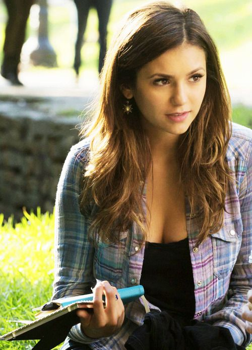 Nina Dobrev Elena Gilbert 6x07 Do You Remember The First Time