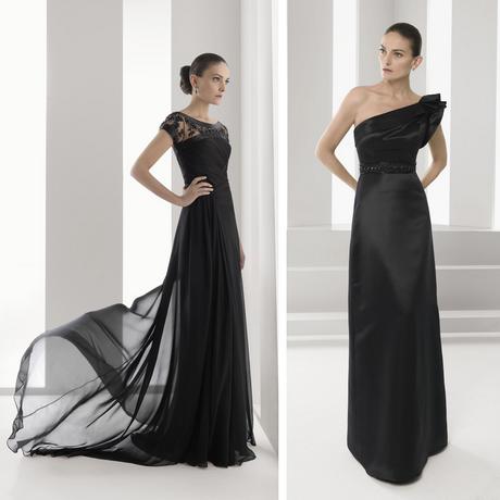 Vestido negro madrina boda