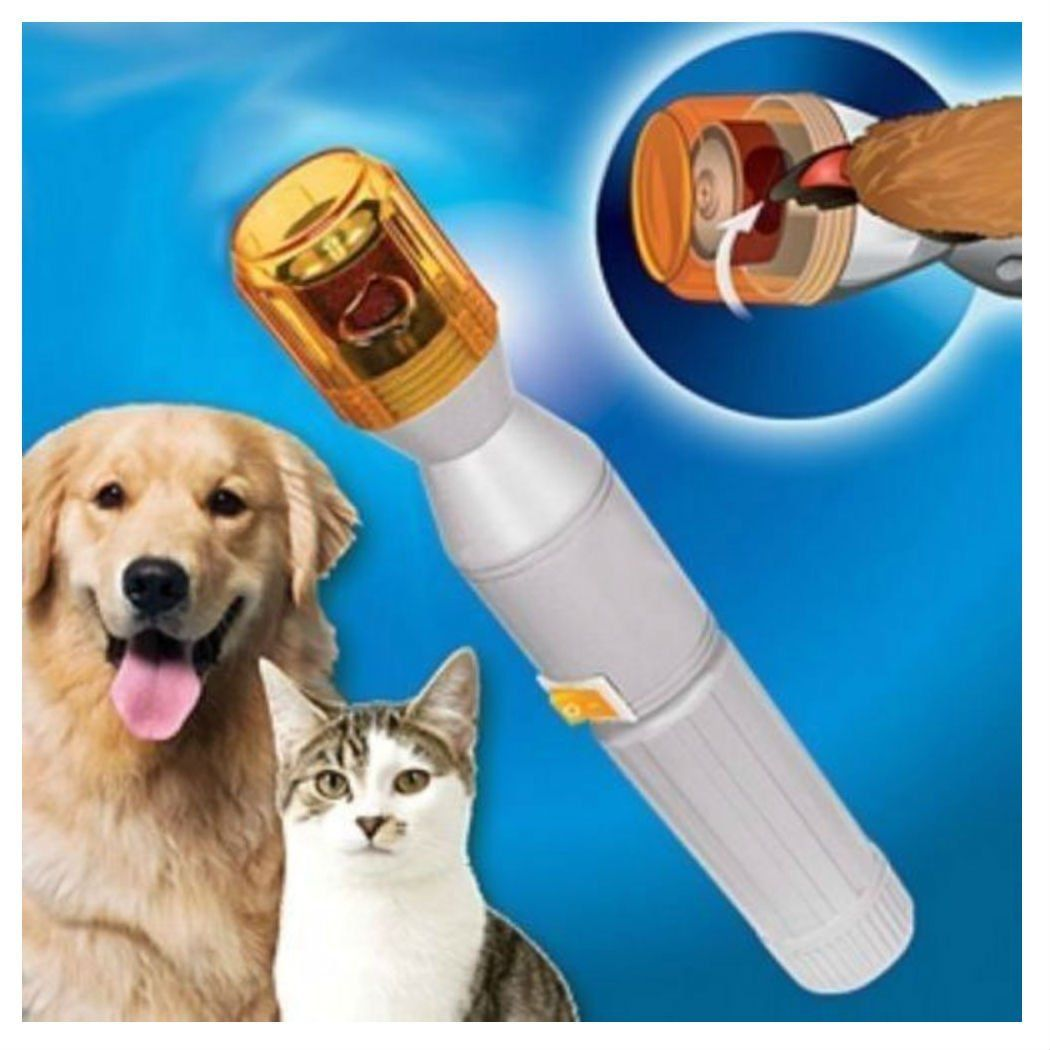 Pet Dog Cat Nail Trimmer Grooming Tool Care Grinder Electric
