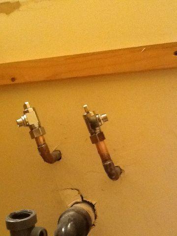 How To Fix A Leaky Shut Off Valve Under Bathroom Sinks Diy Plumbing Plumbing Repair