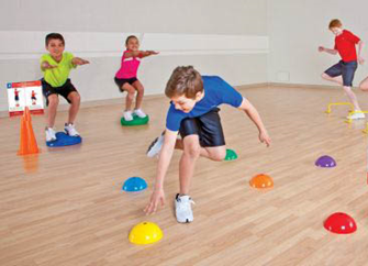 Teaching SkillRelated Fitness Concepts in All Spaces