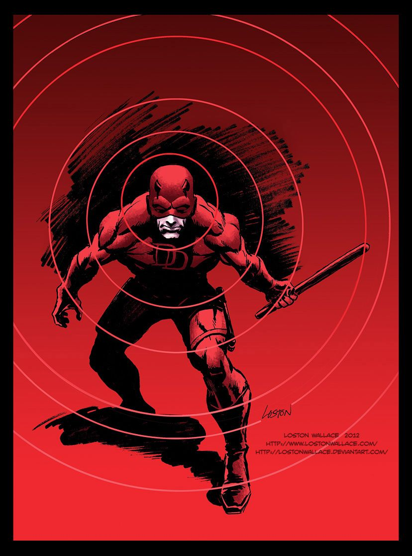 Daredevil By Wagner Wandger