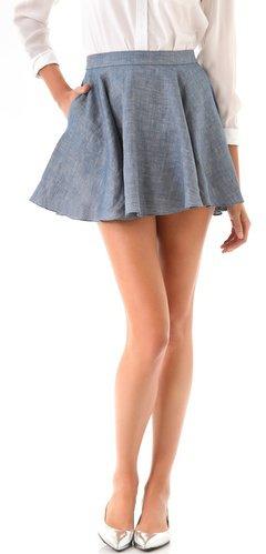 #shopbop.com              #Skirt                    #Jenni #Kayne #Flared #Skirt #SHOPBOP               Jenni Kayne Flared Skirt | SHOPBOP                                            http://www.seapai.com/product.aspx?PID=600639