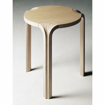 Alvar aalto x leg stool international style pinterest for Alvar aalto muebles