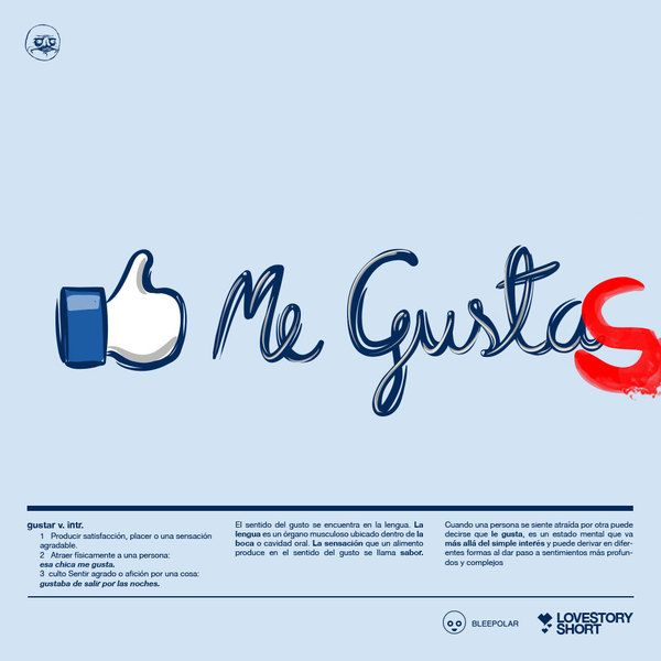 Me GustaS by Luis Felipe Hernández, via Behance