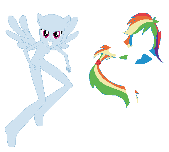Eqg Gala Rainbow Dash By Icantunloveyou With Images Rainbow