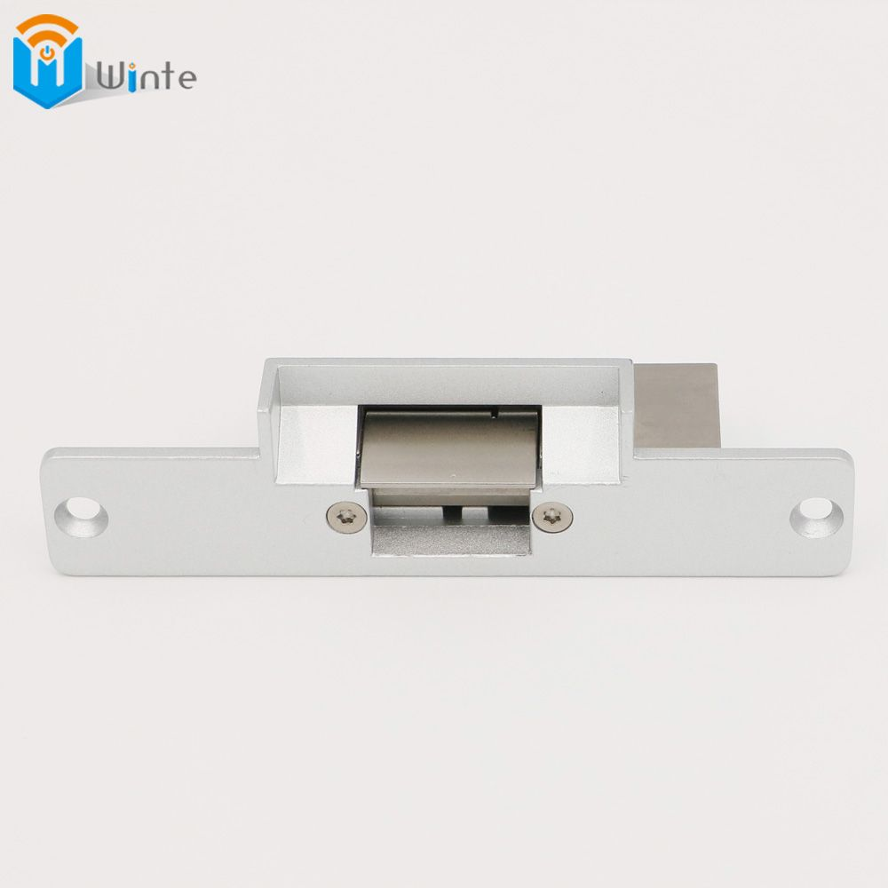 Electric Door Strike Lock For Rfid Electric Access Control Sytem Aluminum Face Plate Fail Safe 12vdc Unlocking Quality Dou Door Strikes Access Control Control