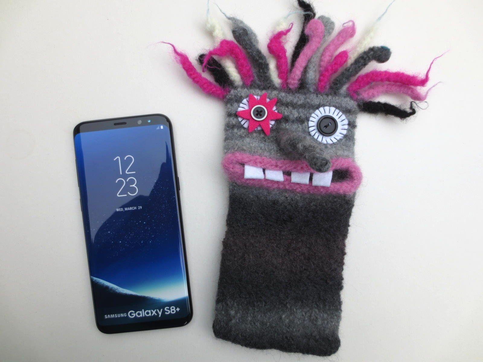 Handytasche Rudiger Monster Smartphone Filz Gefilzt Handy Hulle Samsung Galaxy S8 S 9 J7 S6 E Smartphone Mobile Phone Bag Samsung Galaxy S6 Edge