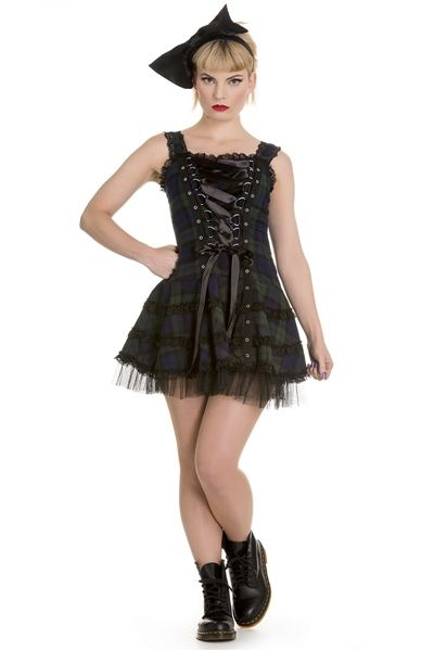 Very Cute Gothic Summer Dress From Hell Bunny Www Galleryserpentine
