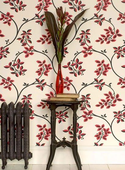 Tapete Ringwold Florale Mustertapete Von Farrow Ball 1660 In
