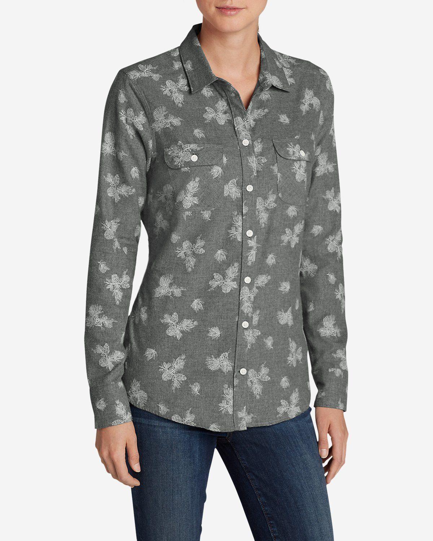 Women's Stine's Favorite Flannel Shirt Plaid Eddie