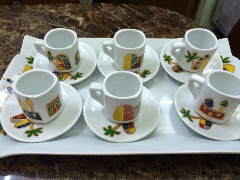 فيروزة بغداد شناشيل بغداد رسم على الزجاج اوردر طلبيات عراق بغداد بغداديات Painted Cups Glass Painting Ramadan Decorations