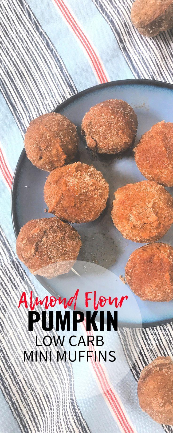 Easy Keto Pumpkin Muffin Minis #pumpkinmuffins