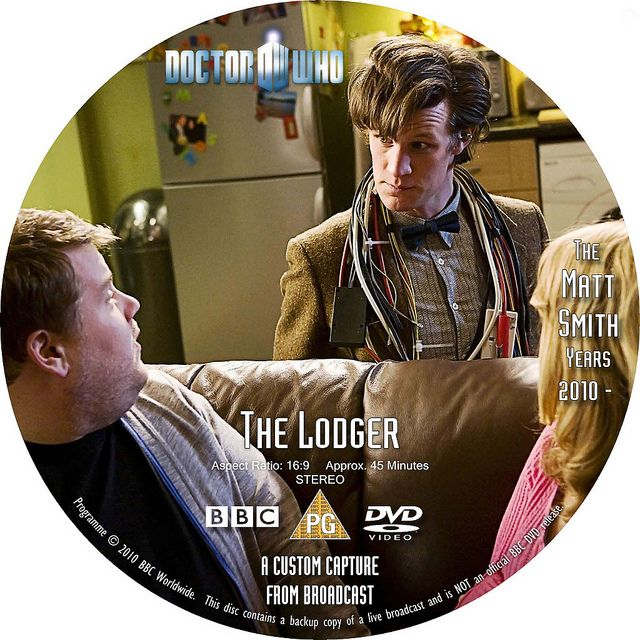 Doctor Who 511 The Lodger DVD Label v2, From the archives of the Timelords and Whovians