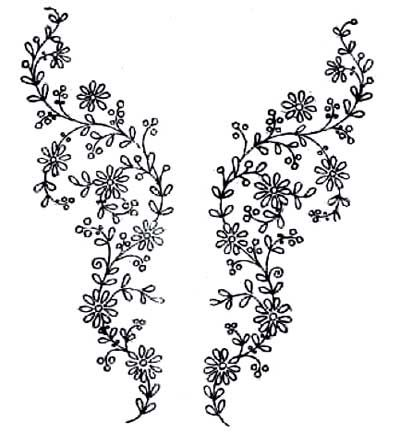 Hand Embroidery Designs More Free Hand Embroidery Patterns Cross