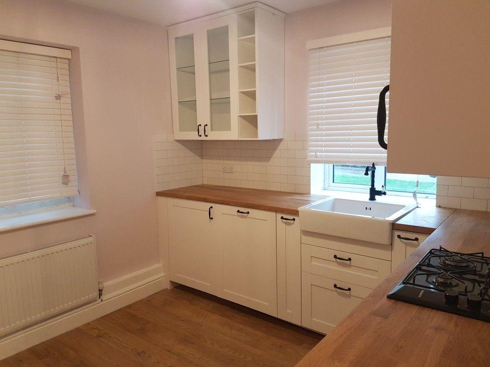 ikea savedal kitchen floor is vintage tawny chestnut blinds from 247 blinds cuisine. Black Bedroom Furniture Sets. Home Design Ideas
