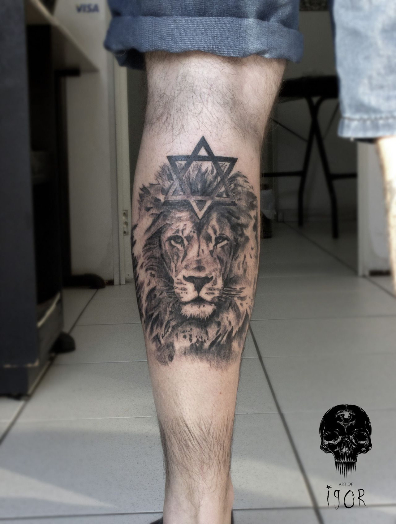 Small Star Of David Tattoo: FYeahTattoos.com : Photo (With Images)