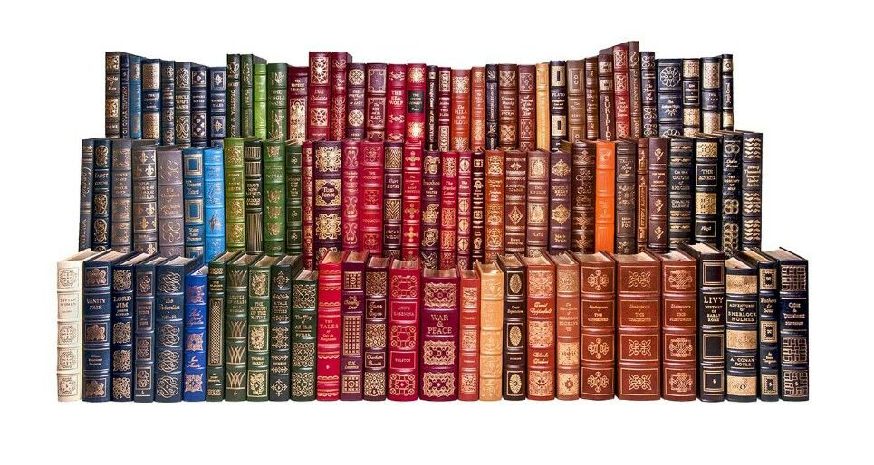 Easton press leather bound set of 100 classics this is