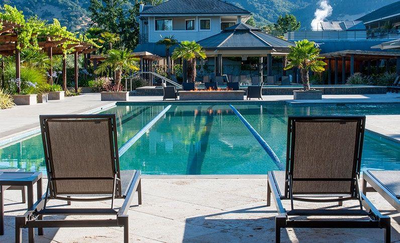 Mineral Pool Calistoga Spa Hot Springs California Mineral Pool Napa Valley Hotels California Hot Springs