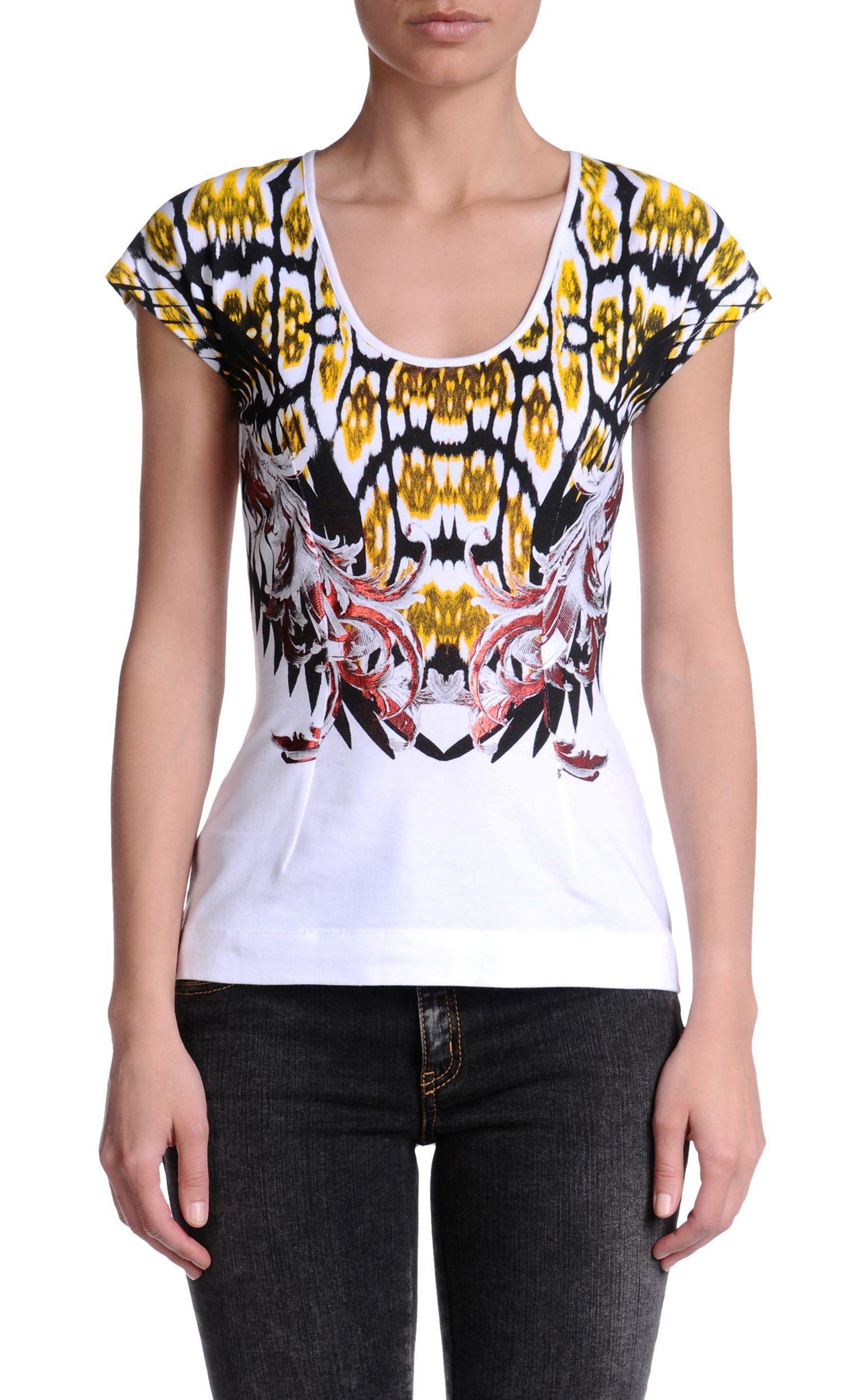 huge discount 51767 dfbd3 Short sleeve t-shirt Women - Topwear Women on Just Cavalli ...