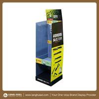 Wholesale promotion floor cardboard display for kitchen ware