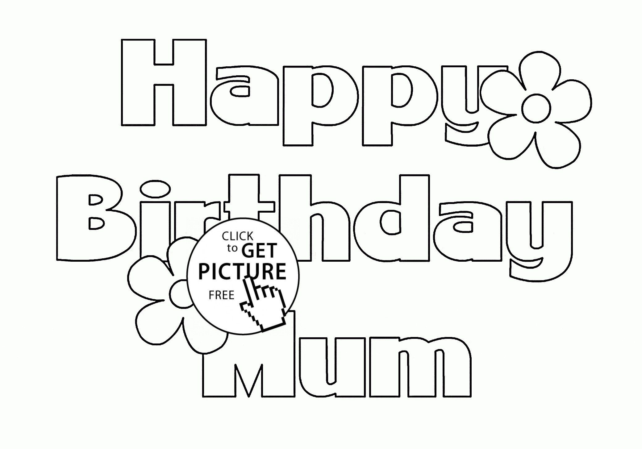 Happy Birthday Coloring Card Lovely 49 Awesome Happy Birthday Coloring Pages For Adults