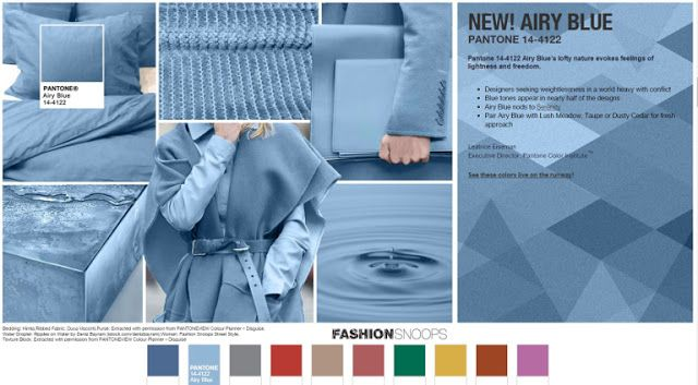 Couture et Tricot: The Fall 2016 Pantone Color Report is out ...