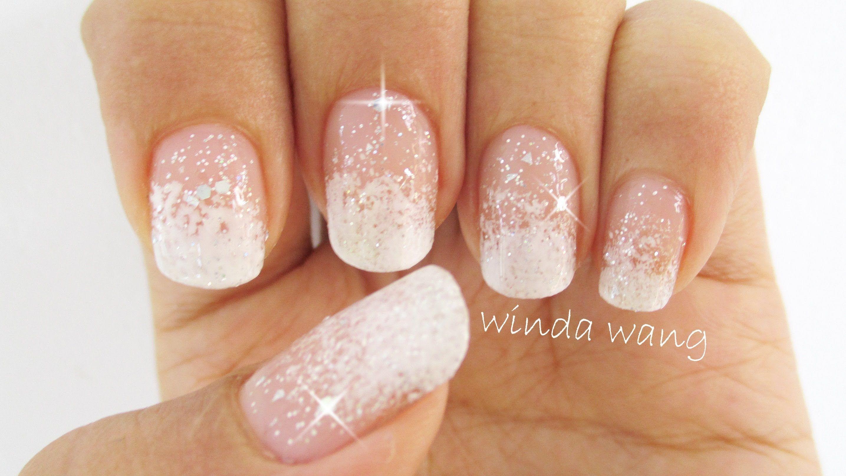 nail design wedding guest