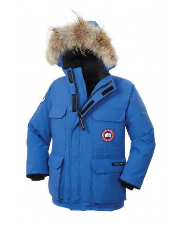 CANADA GOOSE YOUTH PBI EXPEDITION PARKA PBI BLUE 4565YPB Warm ... a632383c3